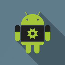 Logo of Android for Settings.
